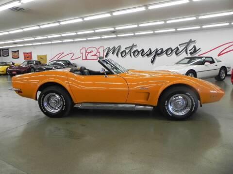 1973 Chevrolet Corvette for sale at 121 Motorsports in Mt. Zion IL