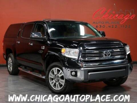 2017 Toyota Tundra for sale at Chicago Auto Place in Bensenville IL