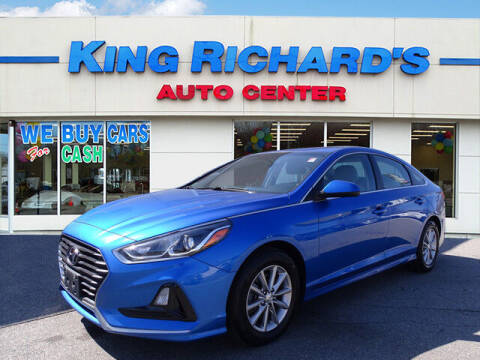 2018 Hyundai Sonata for sale at KING RICHARDS AUTO CENTER in East Providence RI