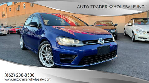 2015 Volkswagen Golf R for sale at Auto Trader Wholesale Inc in Saddle Brook NJ