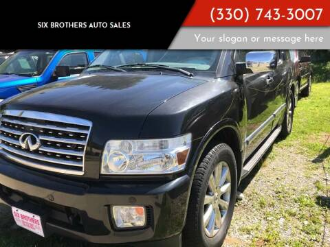 2008 Infiniti QX56 for sale at Six Brothers Auto Sales in Youngstown OH