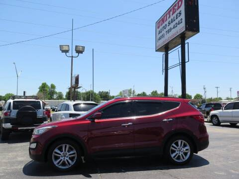 2013 Hyundai Santa Fe Sport for sale at United Auto Sales in Oklahoma City OK