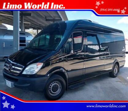 2012 Mercedes-Benz Sprinter Passenger for sale at Limo World Inc. in Seminole FL