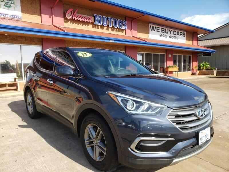 2017 Hyundai Santa Fe Sport for sale at Ohana Motors in Lihue HI