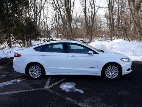 2015 Ford Fusion Hybrid for sale at Feduke Auto Outlet in Vestal NY