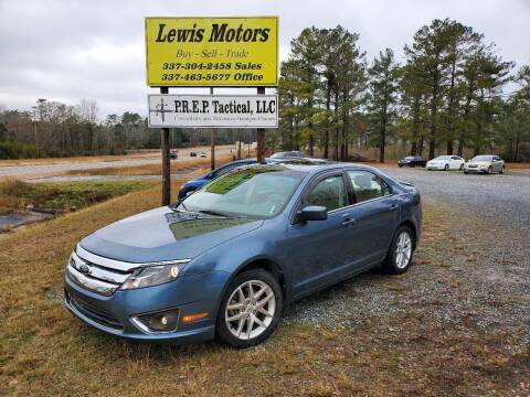 2012 Ford Fusion for sale at Lewis Motors LLC in Deridder LA
