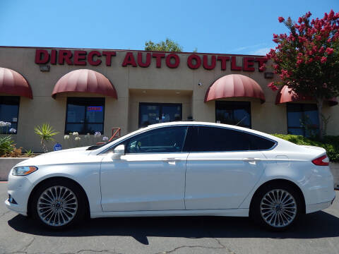 2013 Ford Fusion for sale at Direct Auto Outlet LLC in Fair Oaks CA