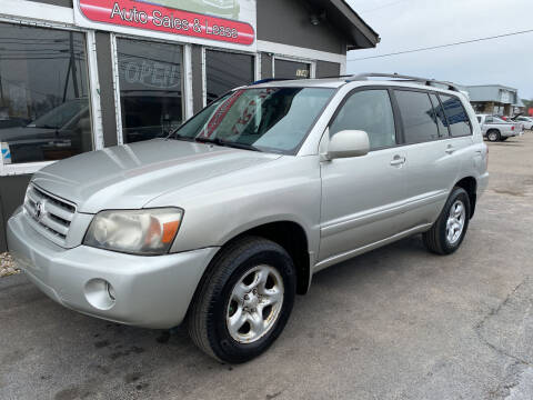 2007 Toyota Highlander for sale at Martins Auto Sales in Shelbyville KY