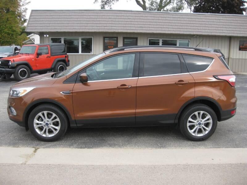2017 Ford Escape for sale at Greens Motor Company in Forreston IL