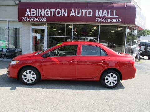 2010 Toyota Corolla for sale at Abington Auto Mall LLC in Abington MA