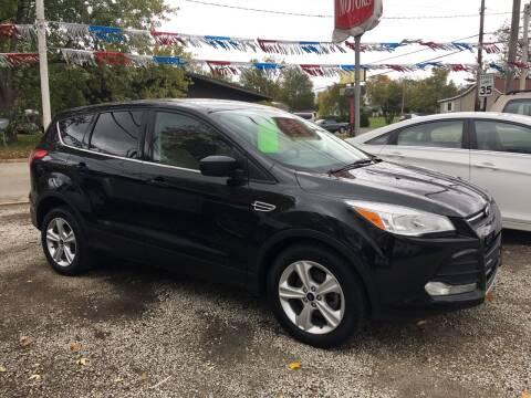 2014 Ford Escape for sale at Antique Motors in Plymouth IN