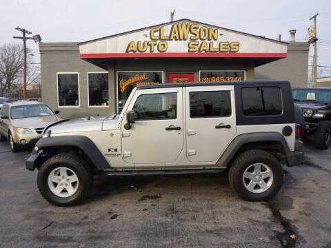 2007 Jeep Wrangler Unlimited for sale at Clawson Auto Sales in Clawson MI