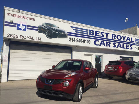 2013 Nissan JUKE for sale at Best Royal Car Sales in Dallas TX