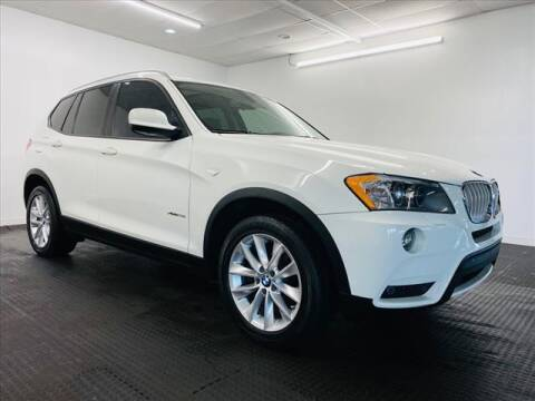 2014 BMW X3 for sale at Champagne Motor Car Company in Willimantic CT
