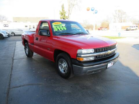 2002 Chevrolet Silverado 1500 for sale at Auto Land Inc in Crest Hill IL