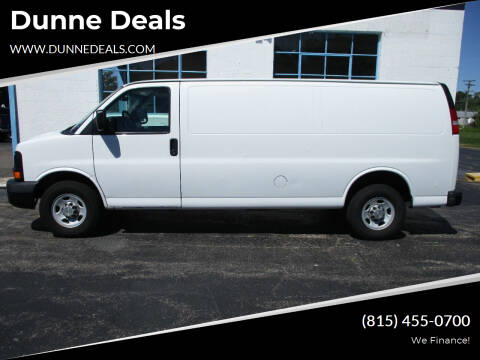 2013 Chevrolet Express Cargo for sale at Dunne Deals in Crystal Lake IL