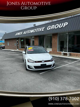 2016 Volkswagen Golf GTI for sale at Jones Automotive Group in Jacksonville NC