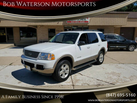 2004 Ford Explorer for sale at Bob Waterson Motorsports in South Elgin IL