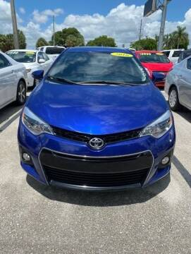 2016 Toyota Corolla for sale at DAN'S DEALS ON WHEELS in Davie FL
