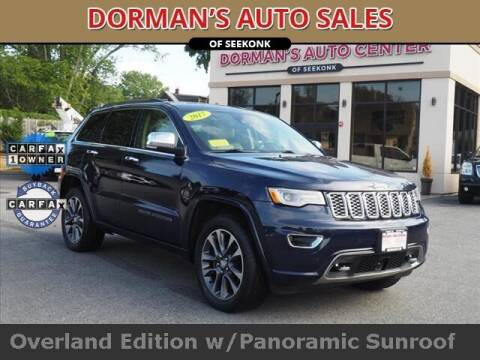 2017 Jeep Grand Cherokee for sale at DORMANS AUTO CENTER OF SEEKONK in Seekonk MA