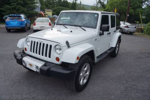 2013 Jeep Wrangler Unlimited for sale at Autos By Joseph Inc in Highland NY