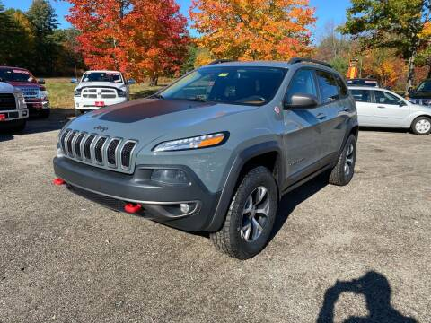 2014 Jeep Cherokee for sale at AutoMile Motors in Saco ME