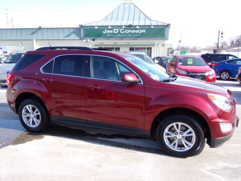 2017 Chevrolet Equinox for sale at Jim O'Connor Select Auto in Oconomowoc WI