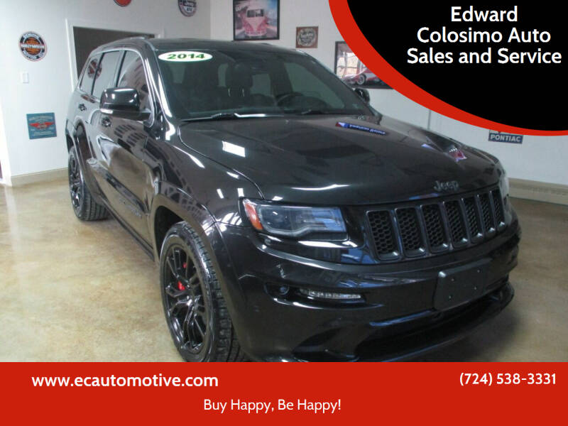 2014 Jeep Grand Cherokee for sale at Edward Colosimo Auto Sales and Service in Evans City PA