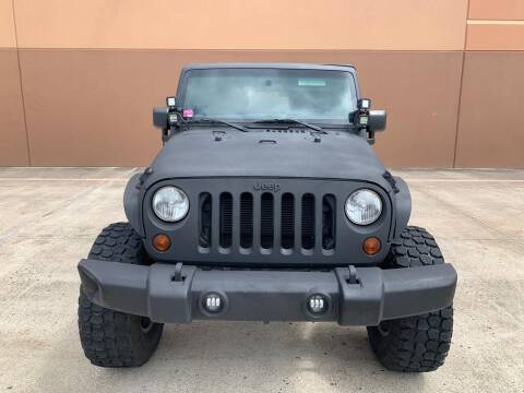 2013 Jeep Wrangler Unlimited for sale at ALL STAR MOTORS INC in Houston TX