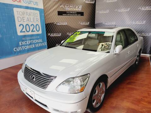 2004 Lexus LS 430 for sale at X Drive Auto Sales Inc. in Dearborn Heights MI