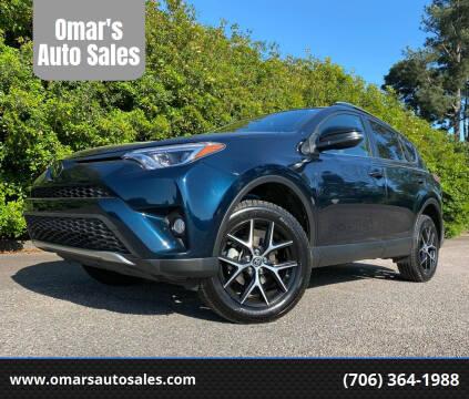 2018 Toyota RAV4 for sale at Omar's Auto Sales in Martinez GA