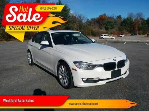 2013 BMW 3 Series for sale at Westford Auto Sales in Westford MA