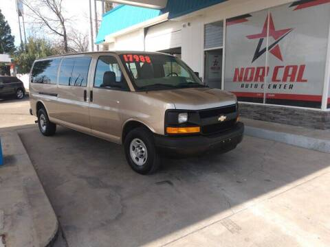 2013 Chevrolet Express Passenger for sale at Nor Cal Auto Center in Anderson CA