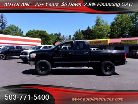 2006 Dodge Ram Pickup 2500 for sale at Auto Lane in Portland OR