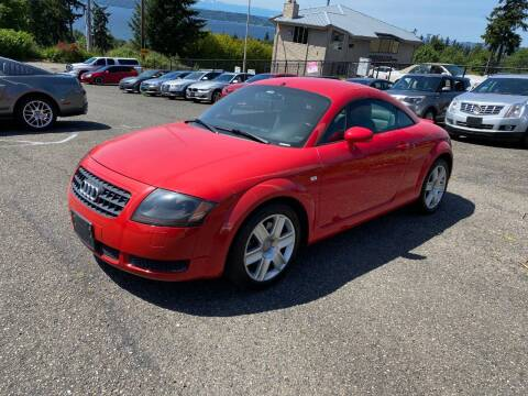 2003 Audi TT for sale at KARMA AUTO SALES in Federal Way WA
