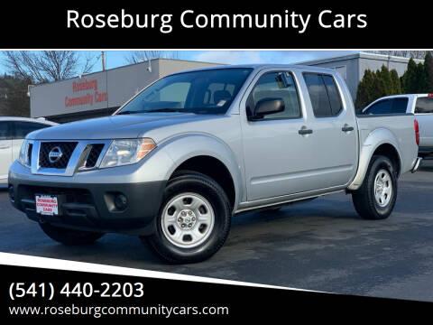 2014 Nissan Frontier for sale at Roseburg Community Cars in Roseburg OR