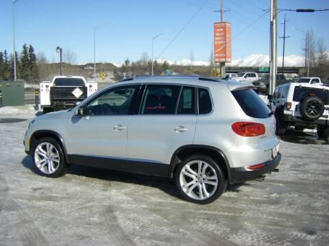 2013 Volkswagen Tiguan for sale at NORTHWEST AUTO SALES LLC in Anchorage AK