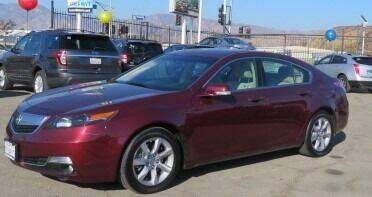 2012 Acura TL for sale at Luxor Motors Inc in Pacoima CA