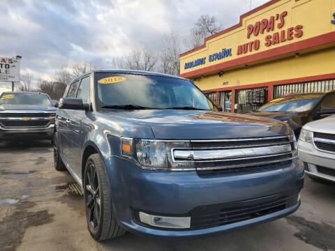 2018 Ford Flex for sale at Popas Auto Sales in Detroit MI