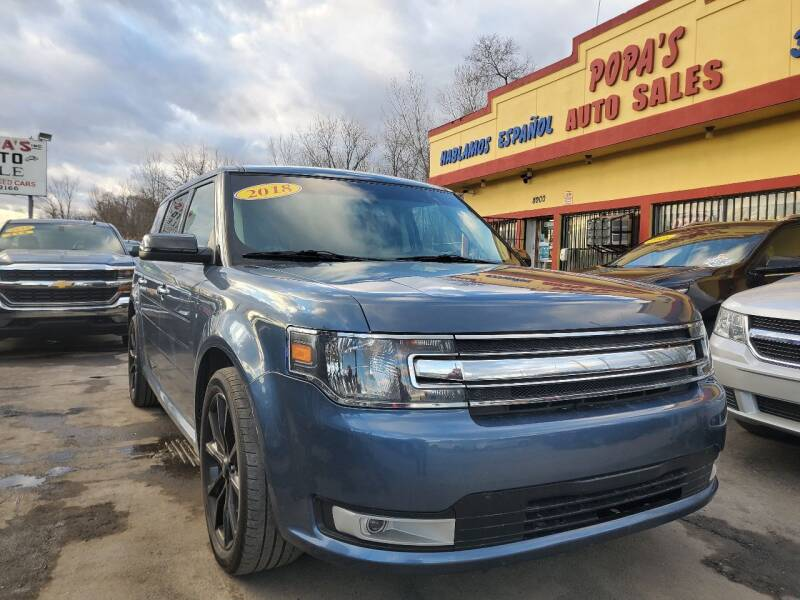 2018 Ford Flex for sale at Popas Auto Sales in Detroit MI