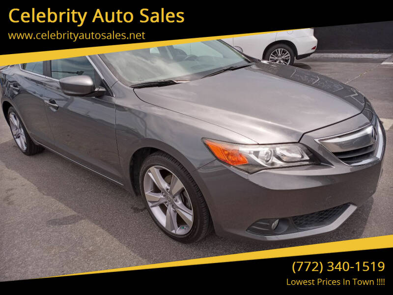 2014 Acura ILX for sale at Celebrity Auto Sales in Port Saint Lucie FL