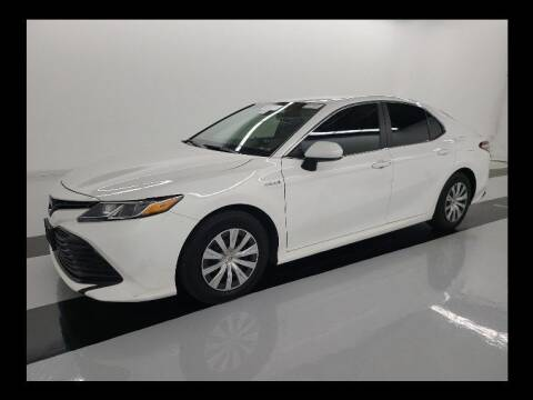 2018 Toyota Camry Hybrid for sale at CENTURY MOTORS in Fresno CA