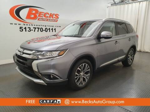 2017 Mitsubishi Outlander for sale at Becks Auto Group in Mason OH