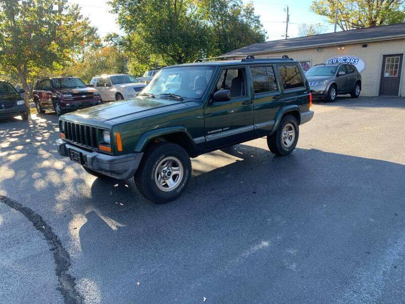 2000 Jeep Cherokee for sale at KP'S Cars in Staunton VA