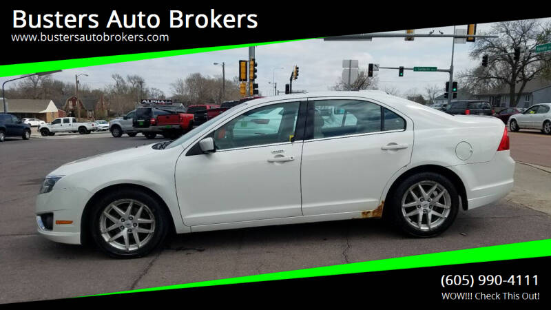 2010 Ford Fusion for sale at Busters Auto Brokers in Mitchell SD