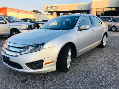 2011 Ford Fusion for sale at VENTURE MOTOR SPORTS in Virginia Beach VA