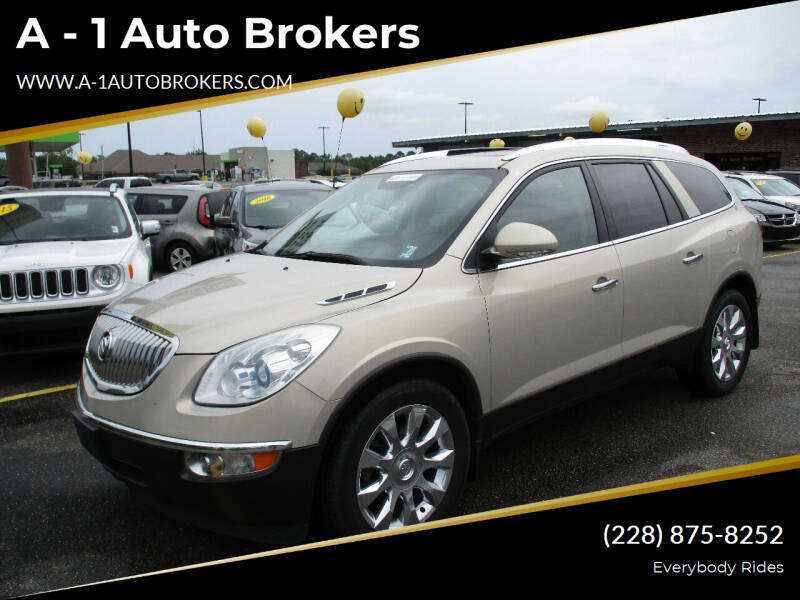 2011 Buick Enclave for sale at A - 1 Auto Brokers in Ocean Springs MS