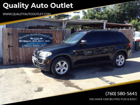 2008 BMW X5 for sale at Quality Auto Outlet in Vista CA