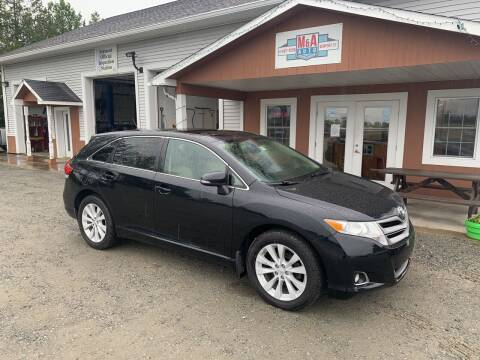 2015 Toyota Venza for sale at M&A Auto in Newport VT