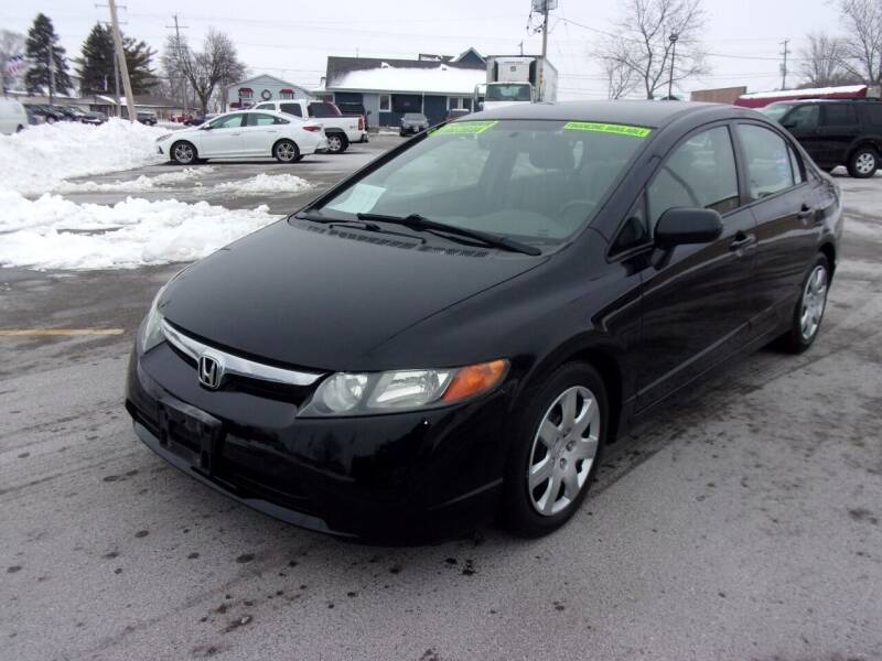 2008 Honda Civic for sale at Ideal Auto Sales, Inc. in Waukesha WI